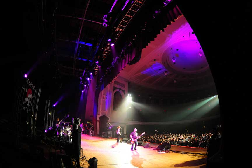 Gary Hoey Concert Lighting