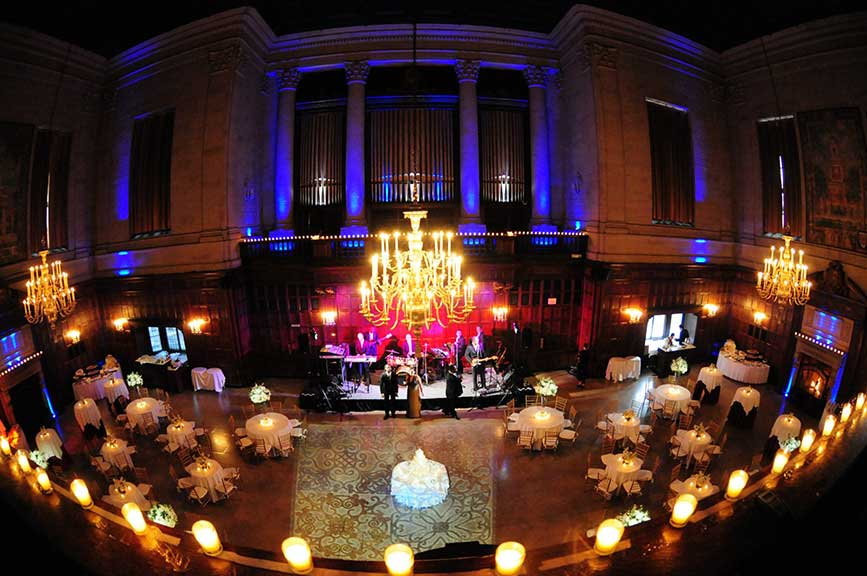 The Harvard Club Boston Boston Event Lighting