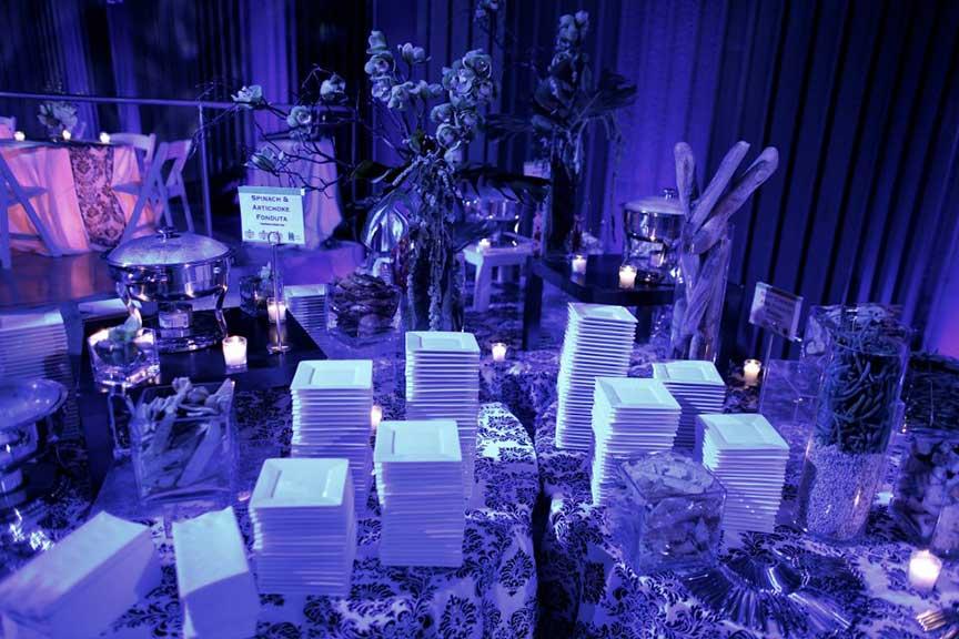 Corporate Event lighting - Space 57, Boston