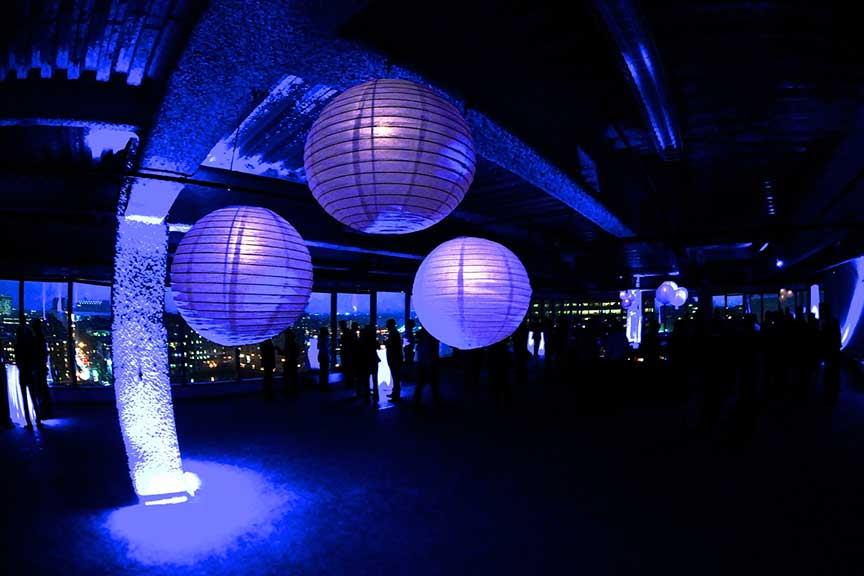 Paper Lanterns Boston Event Lighting