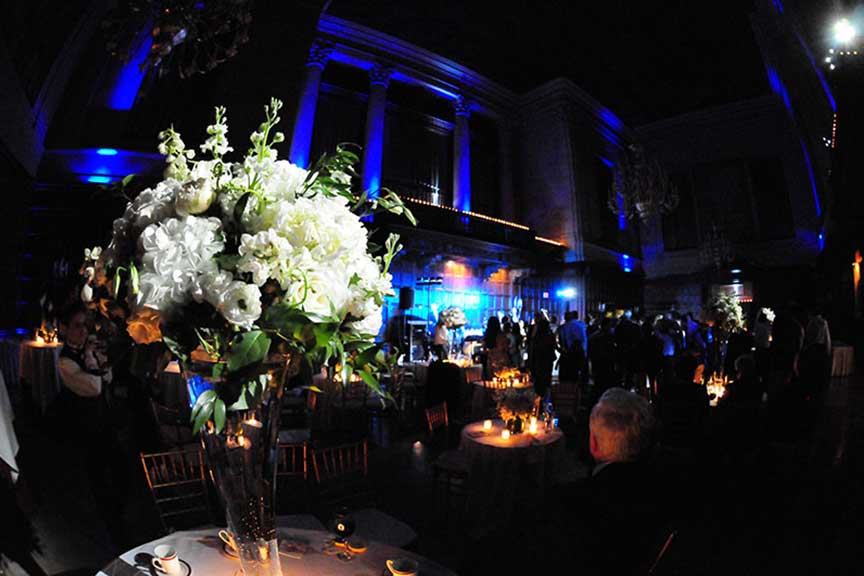 wedding-lighting-pinspots-harvard-club-boston