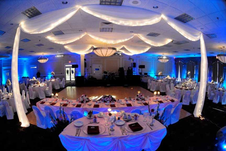 Wedding Lighting the Venue